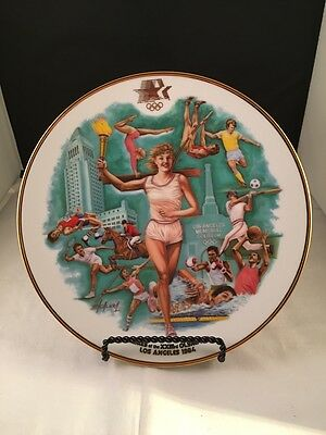1984 Olympic Games Commemorative Plate