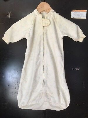 VTG 50s 60s Woolworth Pata-Cake BABY BUNTING Zipper front Doll