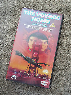 *VINTAGE* Star Trek IV - The Voyage Home - VHS - 1986!!