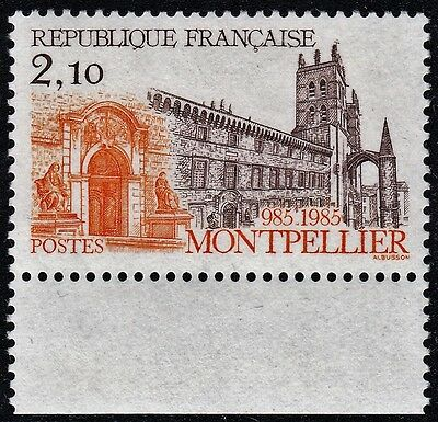 France 1985 2f10 Montpellier Cathedral Marginal MUH