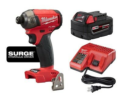 MILWAUKEE 2760-20 M18™ FUEL™ SURGE™ 1/4 In. Hex Hydraulic Impact Driver KIT