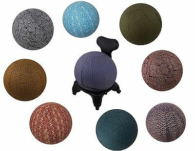 SIZE 65 YOGA BALL COVERS 100% Woven Cotton Carrying Handle Zip Closure Washable