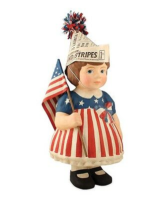 Bethany Lowe 4th July Patriotic Betsy Large Figure New 2017 TJ6222