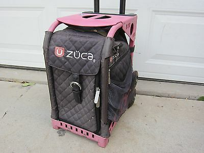 Zuca Frame and Bag with Lighted Wheels. #13 FAST FREE SHIPPING.