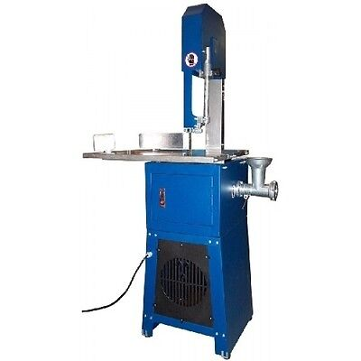 "10"" Stainless Steel Meat-Cutting Saw with Mincer"