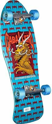*FACTORY COMPLETE*Powell Peralta Steve Caballero DRAGON AND BATS Skateboard BLUE