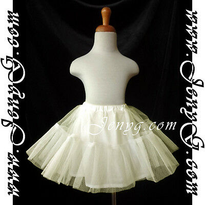 UI8 HANDMADE Baby Girls Pageant Formal Holiday Birthday Prom Evening Petticoat