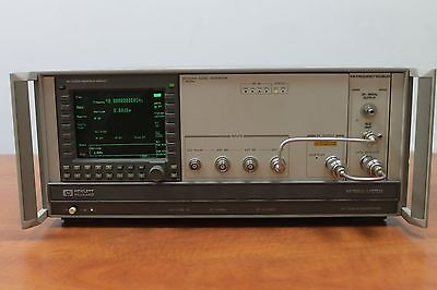 1 - 40GHz █ AGILENT HP 70340A █ SYNTHESIZER RF SIGNAL GENERATOR █ TESTED WORKING