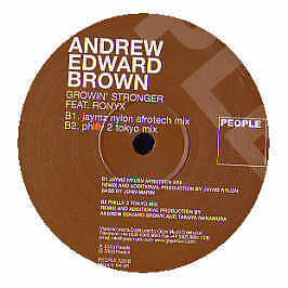 Andrew Edward Brown - Growin Stronger - People - 2003 #246765