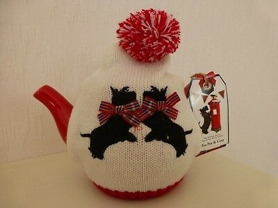 'The Scottish Terrier Collection'Tea Pot + Cosy