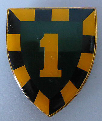 1 SAI SOUTH AFRICAN INFANTRY 1 SAI  BN scarce VERY FIRST TYPE 1 metal ARM BADGE