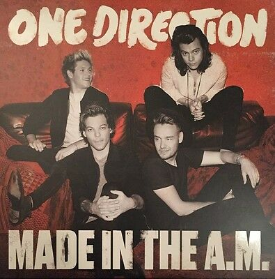 One Direction - Made In The A.M. Vinyl 2LP NEU 0553724