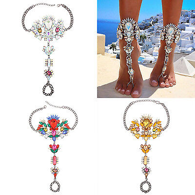 SUP Fashion Women Chain Anklet Ankle Bracelet Barefoot Sandal Beach Foot Jewelry