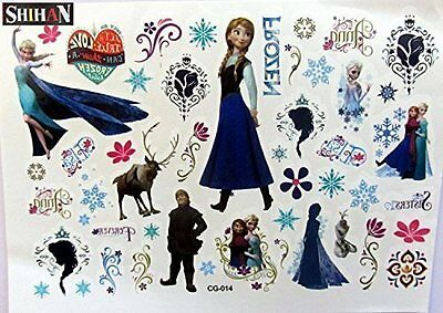 SHIHAN-'FROZEN' Tattoos Movie Flash Sticker Waterproof Temporary for Kids