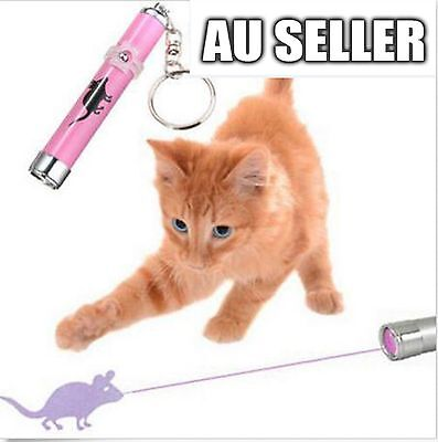 Cat LED Laser Pointer Toy With Bright Mouse Animation For Endless Fun 4 Colors