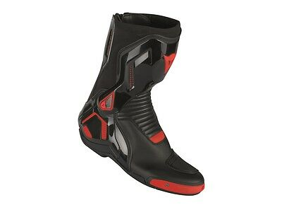 Motorrad Stiefel Dainese Cource D1 Out Farbe: Schwarz/Neonrot Gr: 42