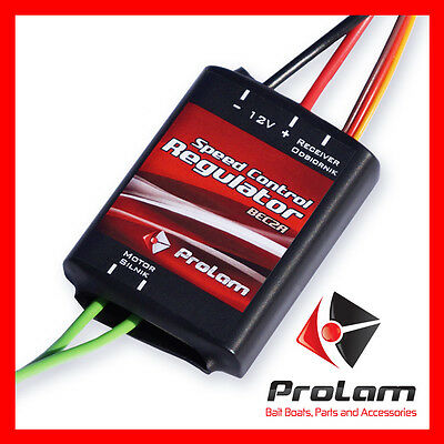 Speed controller ESC 75A, BEC 5V/2A produced by PROLAM (boat, bait boat) brush