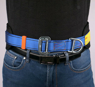 Fall Protection Safety Waist Belt Tree Rock Climbing Belt with 2 D-Rings