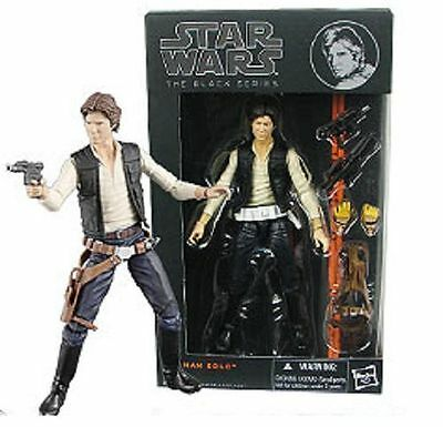 "NEW!! Hasbro Star Wars Black Series 6"" Inch #08 Action Figure Han Solo FREE SHIP"