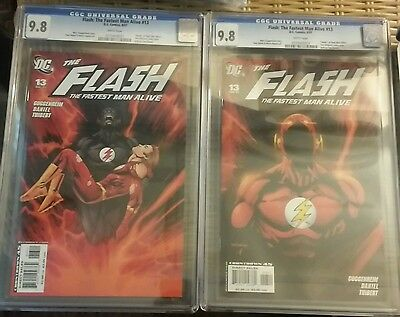 Flash The Fastest Man Alive #13 Death Of The Flash  Both Covers Cgc 9.8