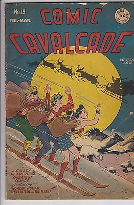 Comic Cavalcade #19 (Feb-Mar 1947, DC) Golden Age Wonder Woman T
