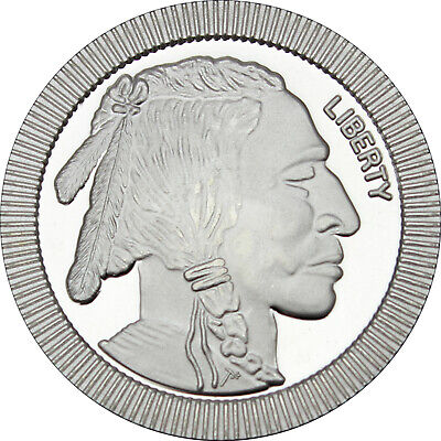 SilverTowne Buffalo Stackables 1oz .999 Silver Medallion