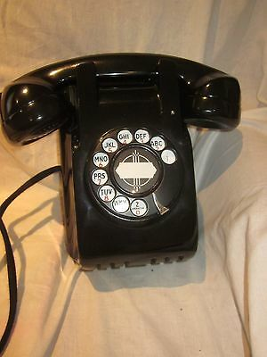 Compact North Electric Bakelite Wall Telephone