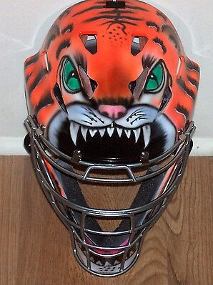 Airbrushed Catchers Mask Rawlings Cool Flow Youth