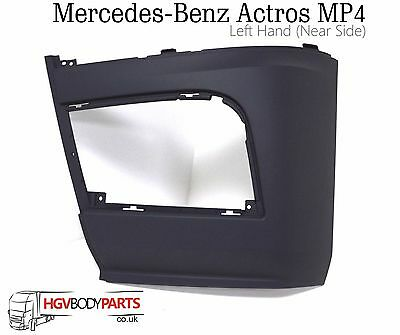 Mercedes Actros MP4 Bumper - Fog lamp Panel LH
