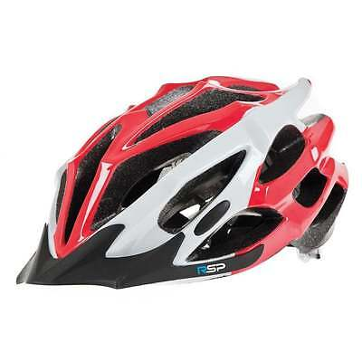 Raleigh RSP Extreme large red and white cycle helmet 58-61cm