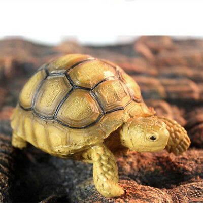 Resin Tortoise Simulated Geochelone Sulcata Turtle Animal Statues Collection
