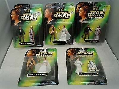 STAR WARS PRINCESS LEIA COLLECTION FIGURE LOT 1997 MOC PICK&CHOOSE Kenner