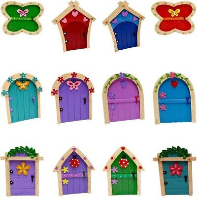 Tiny Fairy Friends Magical Resin Door - Gift Boxed - Garden & Home Ornament