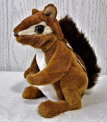 FurReal Chipmunk Squirrel Hasbro 2009 Interactive Pet Toy Chatters Moves Plush