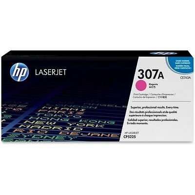 Hp Colour Laserjet Magenta Toner 307A Original Brand New Ce743A