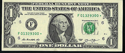"1 US Dollar  2013 STERN ""Federal Reserve Note"" UNC"