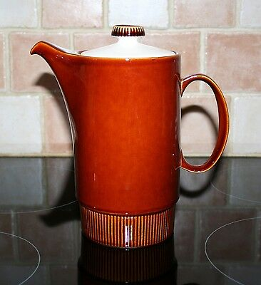 Vintage Poole Pottery Chestnut Coffee Pot
