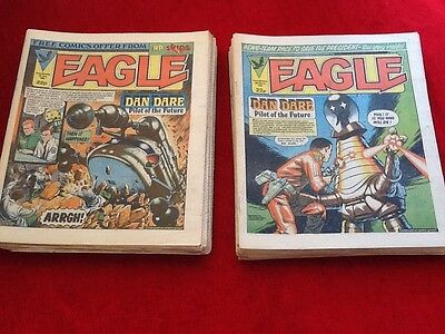 EAGLE & SCREAM Comic -40 UK Paper Comics In Excellent Condition.