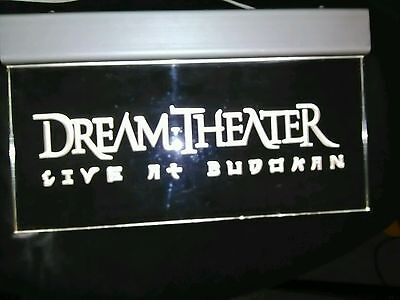 Dream Theater Lighted sign with Logo from live in budokan. *****RARE*****