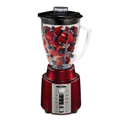Oster BCCG08-RR0-027 8 Speed 450 Watt All Metal Drive 6 Cup Blender Red