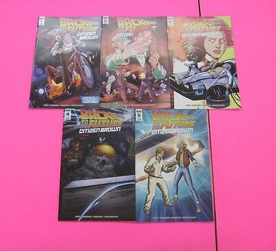 Back To The Future Citizen Brown # 1,2,3,4,5  Comic  Idw 2016 Movie Tv