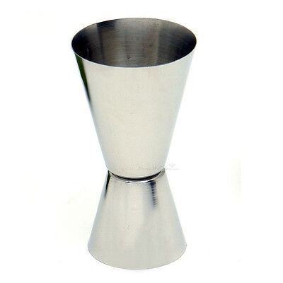 Portable 3 Taille 2-fin Doseur Simple Double Shot Cocktail Mesure Cup