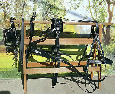 Frontier Special Amish made beta horse, mule,haflinger size harness NEW COMPLETE