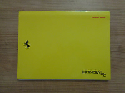 Ferrari Mondial T Owners Handbook/Manual