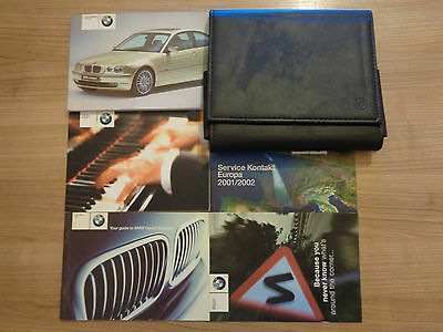 BMW 3 Series Compact Owners Handbook/Manual and Pack 01-03