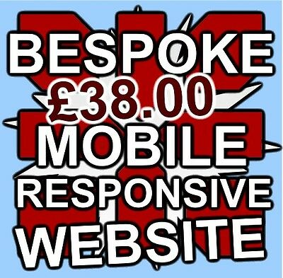 5 PAGE BESPOKE WEBSITE BUSINESS OR PERSONAL Web design FREE DEVELOPMENT