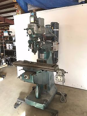 Bridgeport 2HP Vertical Milling Machine w/ Dust Collection System