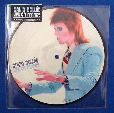 """DAVID BOWIE - LIFE ON MARS? picture disc vinyl 7"""" single , NEW AND SEALED"""