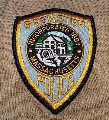 MA Brewster Massachusetts Police Patch