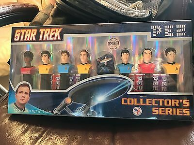 Star Trek Pez Set Collector's Series Limited Edition NIB